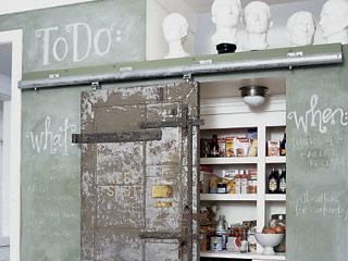 Vintage bar door