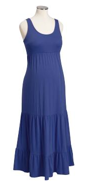 Navy maxi dress old navy
