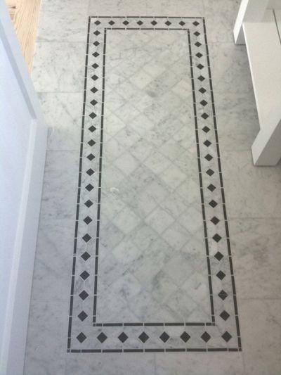 Floor inlay