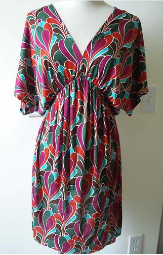FEM tbags dress multi