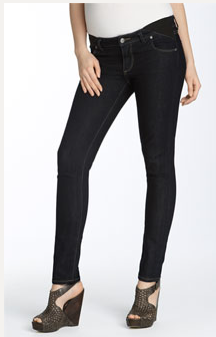 Paige Premium Denim Maternity Stretch Denim Leggings