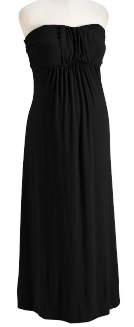 Maternity Drape-Front Jersey Maxi Dresses old navy