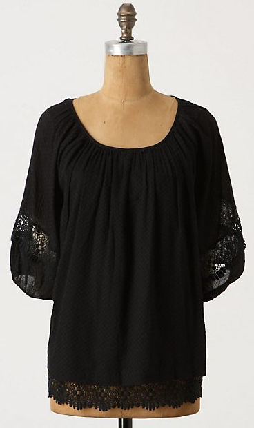 Antho peasant blouse