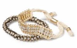 Hive and honey bracelet set